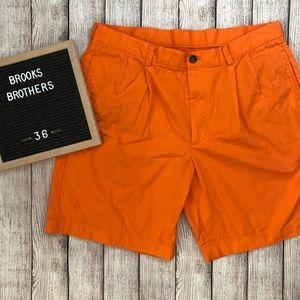 """BROOKS BROTHERS Orange """"346"""" Shorts"""